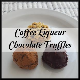 Coffee Liqueur Truffles